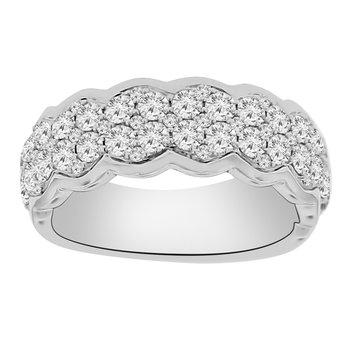 1 1/3ct tw Diamond Fashion Ring in 14K White Gold