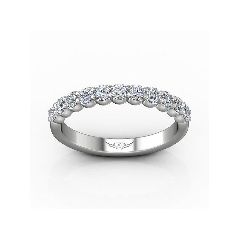 1/2ct tw Diamond Anniversary Ring in 14K White Gold