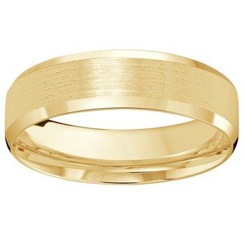 6mm Wedding Ring in 10K Yellow Gold