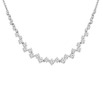 2 1/4ct tw Diamond Fashion Necklace in 18K White Gold