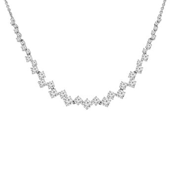 2 1/4ct tw Diamond Fashion Necklace in 18K White Gold