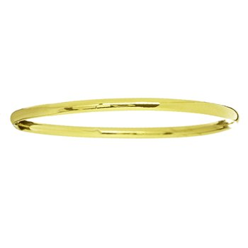 Stackable Bangle Bracelet in 14K Yellow Gold