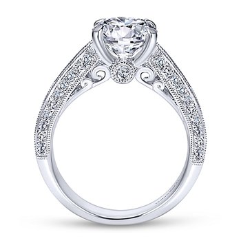 3 1/3ct tw Diamond Engagement Ring in 14K White Gold