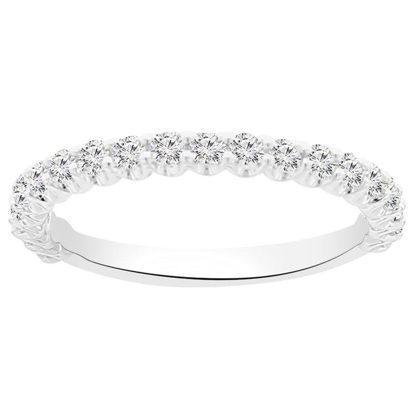 1/2ct tw NewBorn Lab Created Diamond Wedding Ring in 14K White Gold