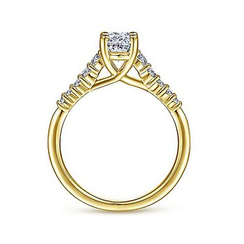 1ct tw Diamond Engagement Ring in 14K Yellow Gold