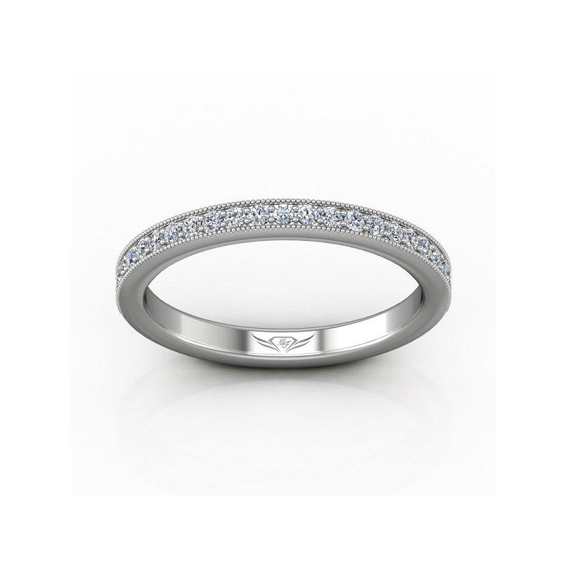 1/4ct tw Diamond Anniversary Ring in 14K White Gold