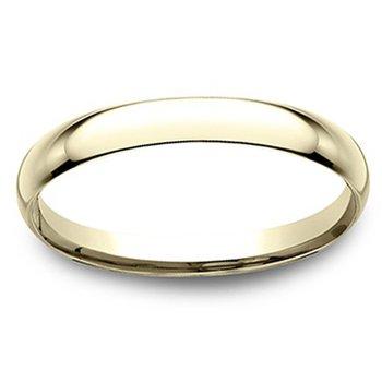 1.5mm Wedding Ring in 14K Yellow Gold
