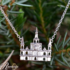 .01ct tw Diamond Nola Collection Cathedral Necklace in Sterling Silver