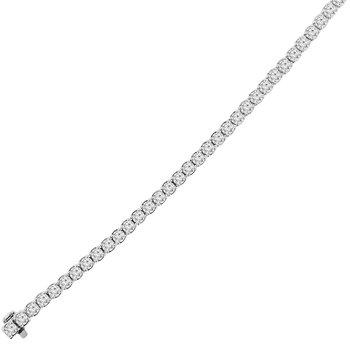 7ct tw Diamond Tennis Bracelet in 14K White Gold
