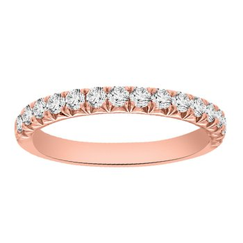 1/5ct tw Diamond Stackable Ring in 14K Rose Gold