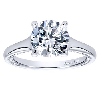 2 1/4ct tw Diamond Engagement Ring in 18K White Gold