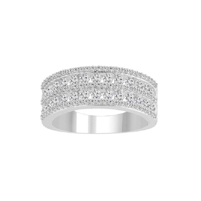 1ct tw Diamond Fashion Ring in 10K White Gold