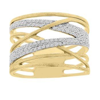 1/4ct tw Diamod Fashion Ring in 14K White Gold