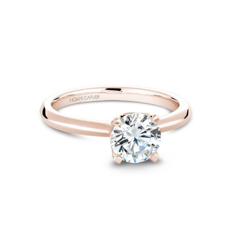 1ct tw Diamond Engagement Ring in 14K Rose Gold