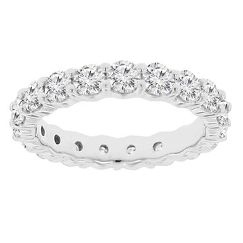 2 1/2ct tw Diamond Eternity Ring in 14K White Gold