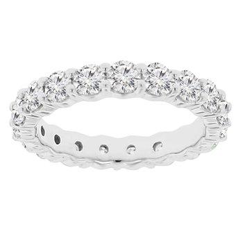 2 1/2ct tw Diamond Eternity Ring in 14K White Gold