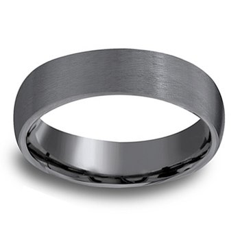 6mm Wedding Ring in Tantalum