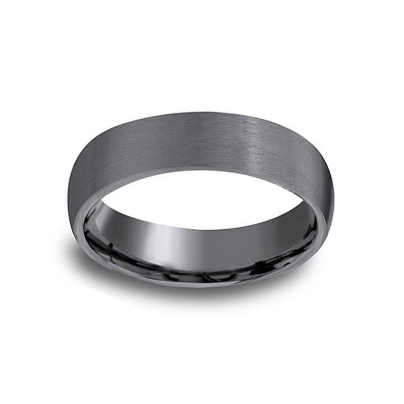 6mm Wedding Ring in Tantalum