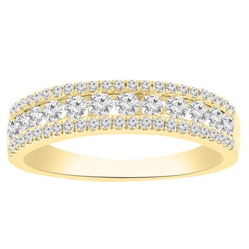 3/4ct tw Diamond Fashion Ring in 14K Yellow Gold