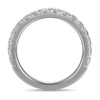 1 1/8ct tw Diamond Wedding Ring in 14K White Gold