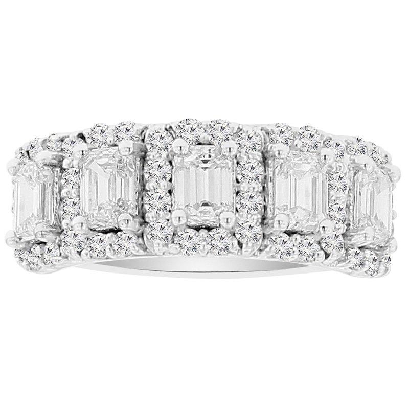 1 1/2ct tw NewBorn Lab Created Diamond Fashion Ring in 14K White Gold