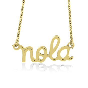 Nola Collection Necklace in 10K Yellow Gold