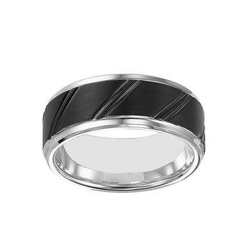 9mm Wedding Ring in Tungsten