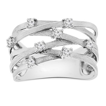 1/4ct tw Diamond Fashion Ring in 14K White Gold