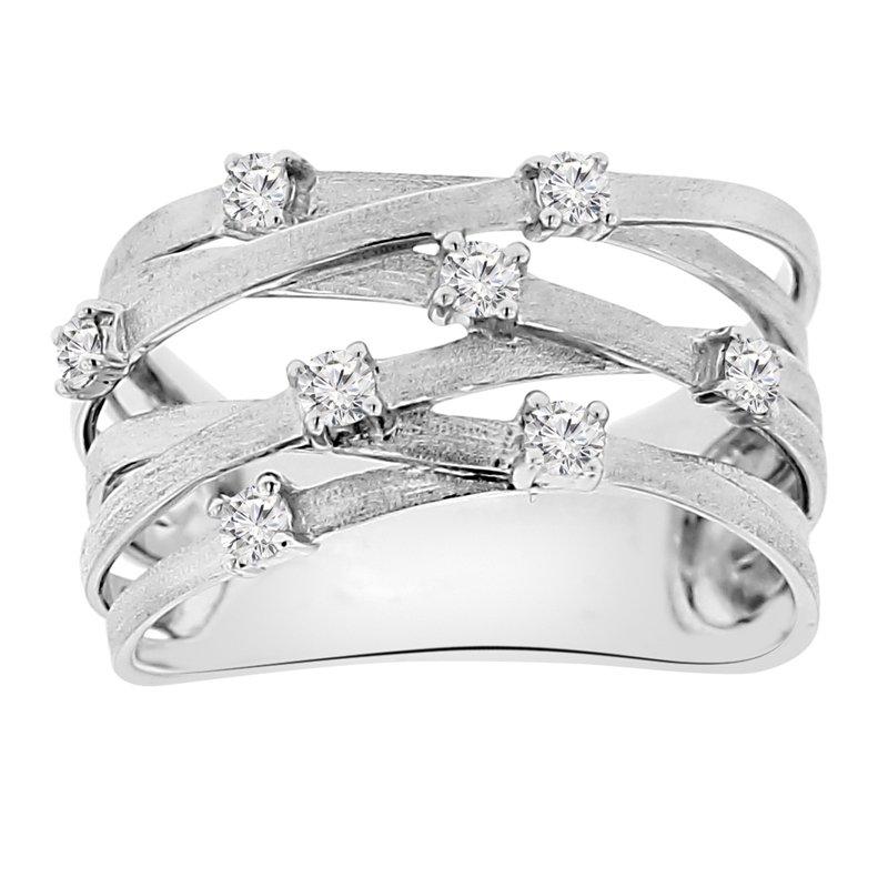1/4ct tw Diamond Fashion Ring in 14K White Gold
