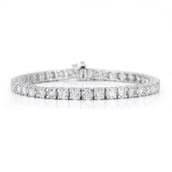 5ct tw Diamond Tennis Bracelet in 14K White Gold