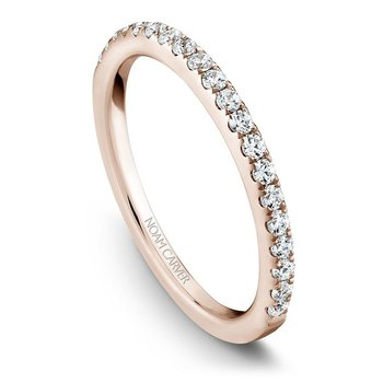 1/3ct tw Diamond Wedding Ring in 14K Rose  Gold