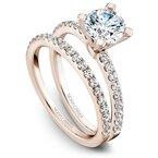 1/3ct tw Diamond Wedding Ring in 14K Rose  Gold