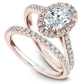 1/4ct tw Diamond Wedding Ring in 14K Rose  Gold