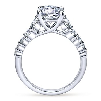 2 1/4ct tw Diamond Engagement Ring in 14K White Gold