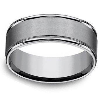 8mm Men's Wedding Ring in Tungsten