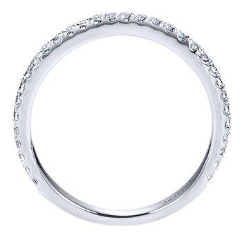 1/3ct tw Diamond Wedding Ring in 18K White Gold