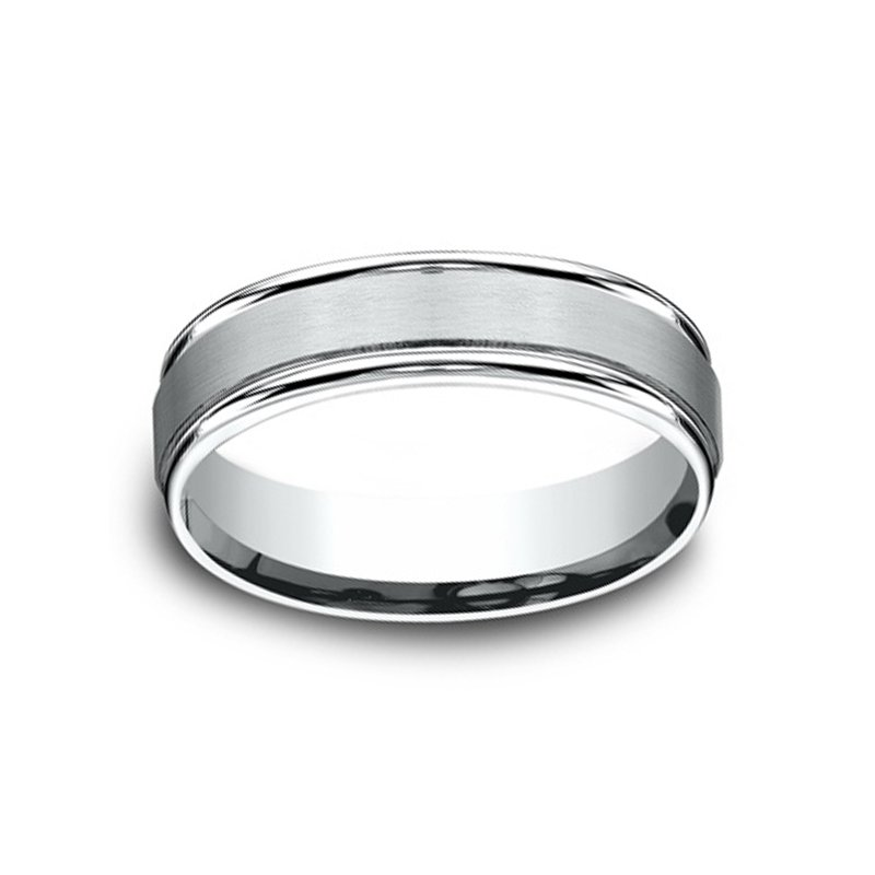 6mm Wedding Ring in Palladium