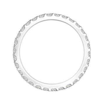 1ct tw Diamond Eternity Ring in 14K White Gold