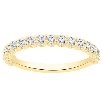 5/8ct tw NewBorn Lab Created Diamond Wedding Ring in 14K Yellow Gold
