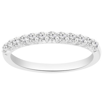 1/3ct tw NewBorn Lab Created Diamond Wedding Ring in 14K White Gold