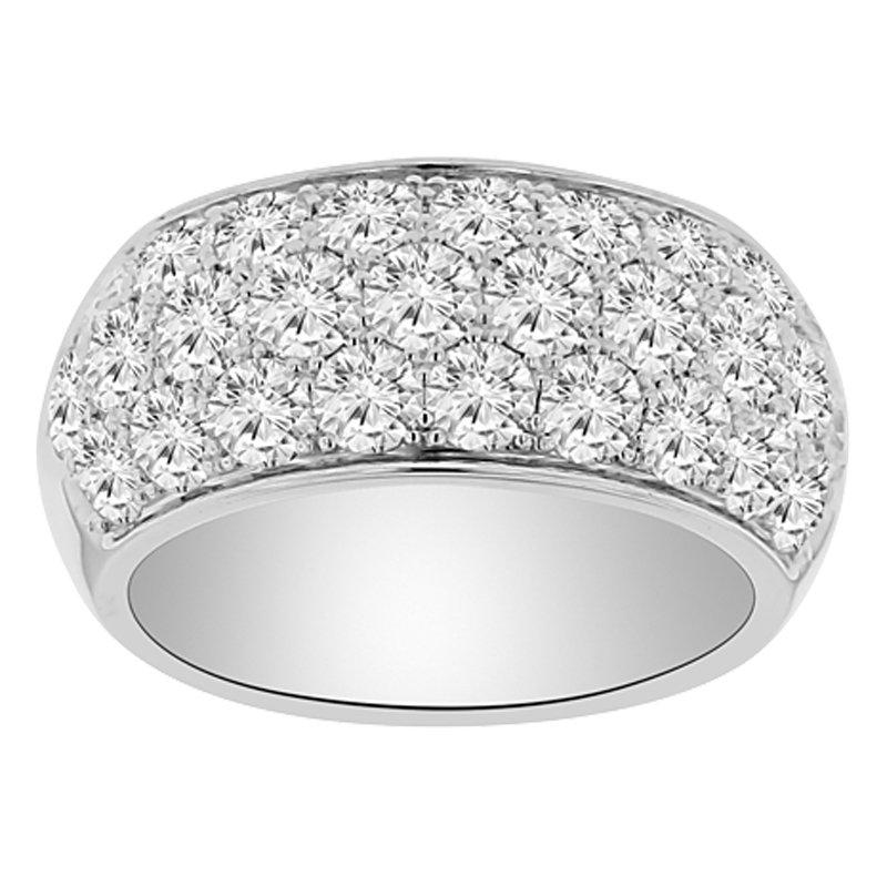 2 7/8ct tw Diamond Anniversary Ring in 14K White Gold