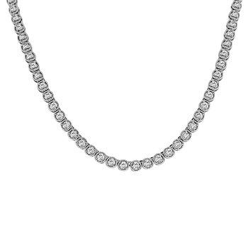 2 1/4ct tw Diamond Fashion Necklace in 14K White Gold