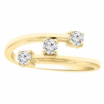 1/3ct tw Diamond Fashion Ring in 14K Yellow Gold