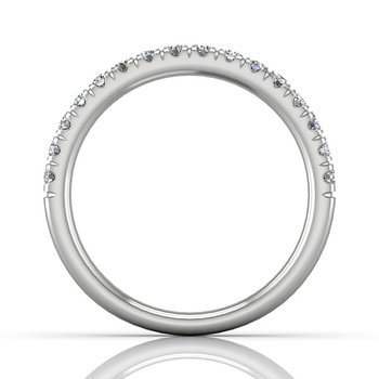 1/3ct tw Diamond Anniversary Ring in 14K White Gold