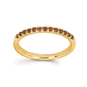 November Birthstone Rings in 14K Yellow Gold