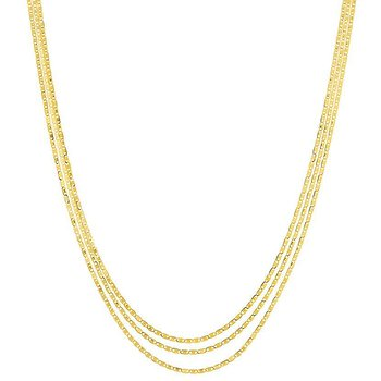 18 Inch Chain in Yellow Gold