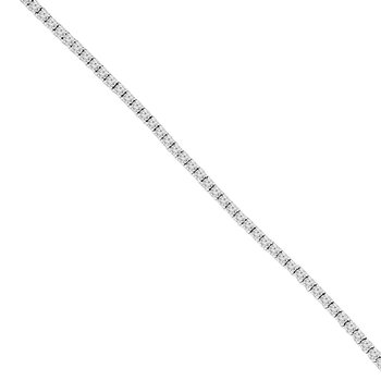 3 1/8ct tw NewBorn Lab Created Diamond Tennis Bracelet in 14K White Gold