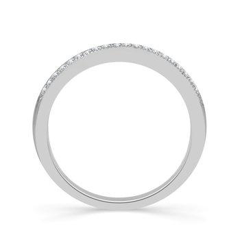 1/10ct tw Diamond True Promise Wedding Ring in 10K White Gold