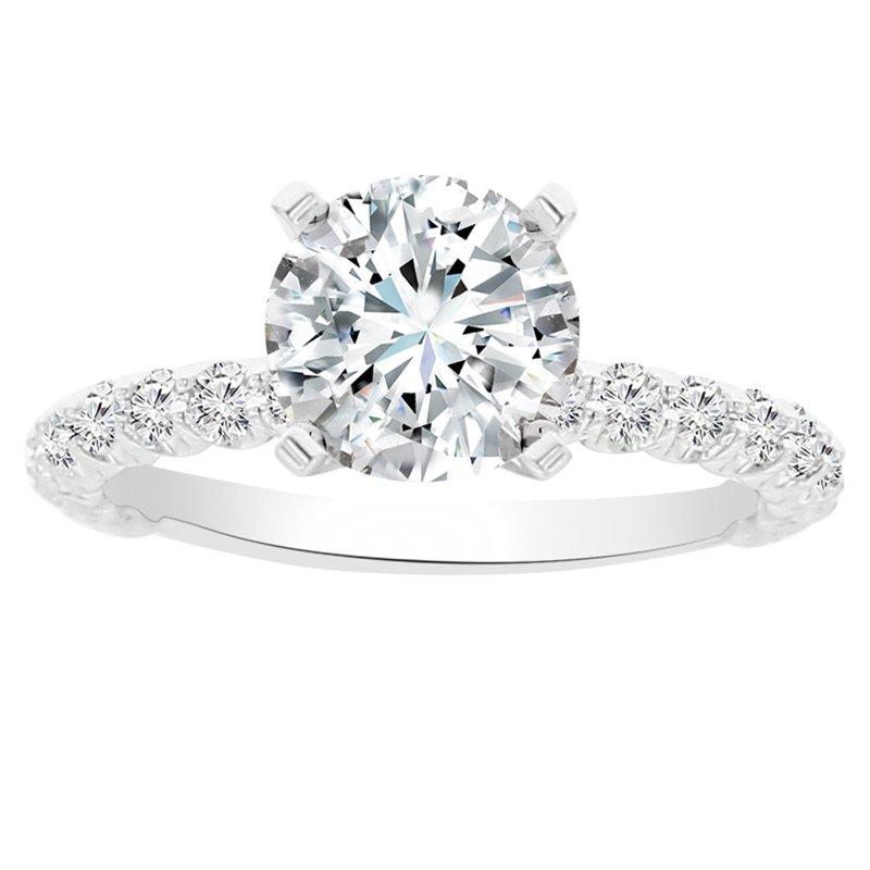 2 1/4ct tw NewBorn Lab Created Diamond Engagement Ring in 14K White Gold