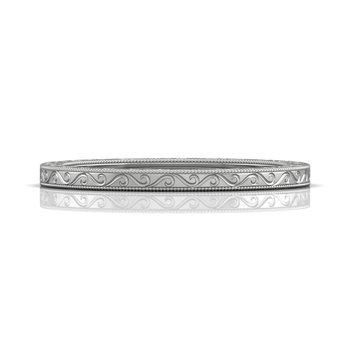 ct tw Wedding Ring in 14K White Gold